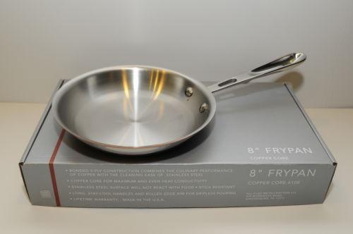 All Clad Copper Core Fry Pan Ebay