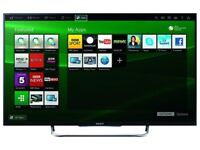 Sony Bravia 50 inch Smart 3D LED Ultra Slim TV with Freeview HD and Freesat HD