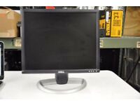 "Dell 1901FP - Flat Panel Display - TFT - 19"" - 1280 x 1024 - 0.29 mm - DVI, VGA (HD-15) -"