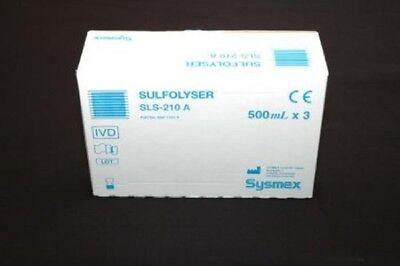 New Sysmex Sls-210a - Sulfolyser 3x500ml