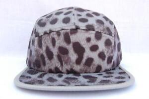 0af9d95f54e 5 Panel Leopard Supreme Hats