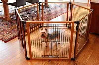 Cardinal Perfect Fit Pet Gate is Ideal All-in-One Gate/Pen/Play Yard Model PFPG