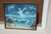 Framed Ocean Art