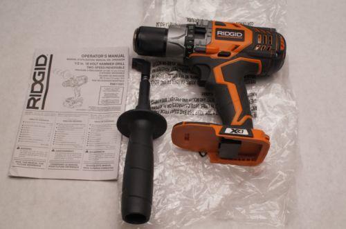 Ridgid 18v Cordless Drill Ebay