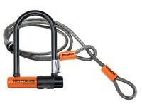 Kryptonite U-Lock and Cable: Like New
