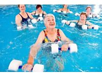 Aqua Aerobics @ Millman Street. class every Wednesday from 2.30pm - 3.30pm in Holborn