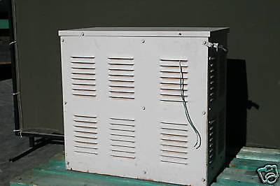 General Electric 5.00 KVA Electrical Voltage Stabilizing Transformer, 3 Phase