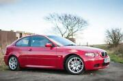 BMW 3 Series Coupe Red
