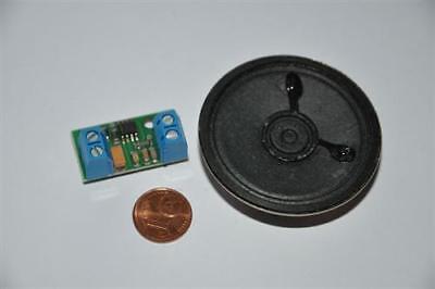 Nebelhorn Sound Modul Geräusch Generator Soundmodul kompakt Lautsprecher