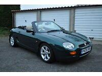 Mgf convertible 1.8vvc loads of money spent please read description