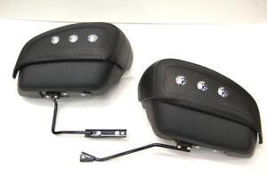softail saddlebags ebay