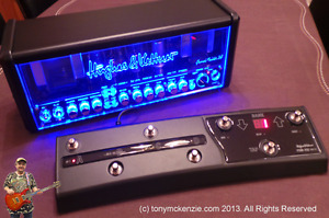 hughes and kettner grandmeister 36 with pedal...H&K 4x10cab