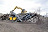 EDMONTON GRAVEL/CONCRETE CRUSHER RENTAL