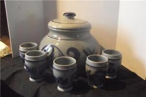 Stone-Ware-Terrine-5-cups-W-Germany