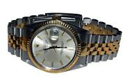 Mens Rolex Datejust Two Tone