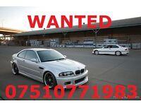 ****WANTED BMW E36 M3/E46 M3/E30/325I WILL PAY GOOD PRICE**** (BMW,AUDI,CIVIC,FORD,E30,GOLF,M3,M5)