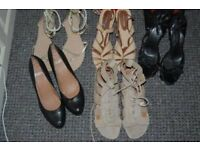Job lot of ladies shoes size 7/8. Collection from Whitby ONLY.