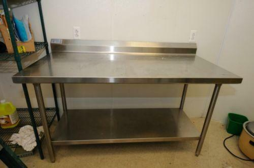 Used Restaurant Prep Tables Ebay