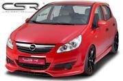Opel Corsa D Frontspoiler