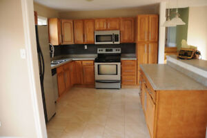 2-level flat in detached house for rent