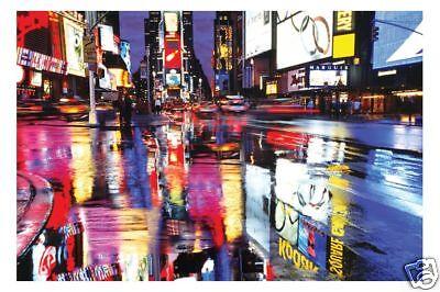 Poster: NEW YORK - Colours - Times Square NEU!! (56814)