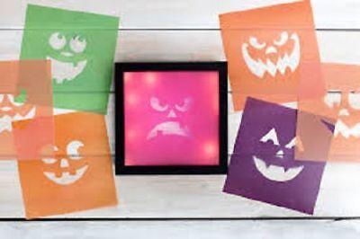 Heidi Swapp Halloween Luminary Paper Pad 8 Inch X 8.5 Inch  NIP New  - Halloween Paper Luminaries