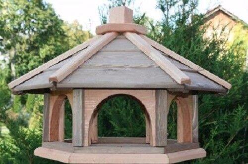 vogelhaus aus holz vogelh uschen vogelh user mit st nder vogelfutterhaus xl ebay. Black Bedroom Furniture Sets. Home Design Ideas