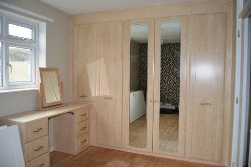 fitted wardrobes small bedroom fitted wardrobes buy bespoke bedroom furniture ebay 15266