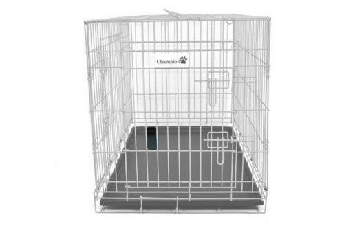 White Dog Crate Ebay