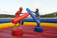FOR RENT: Gladiator Joust Inflatable