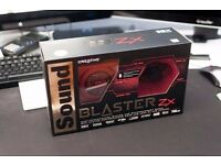 Soundblaster ZX Gaming Sound Card PC