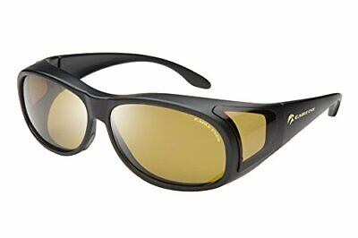 Eagle Eyes Fitons- UVA, UVB and Blue Light Blocking Protection - Black Frames