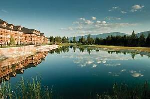 One week at 2 bed/2 bath Bighorn Meadows Resort,Radium Hotspring