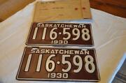 Saskatchewan License Plate
