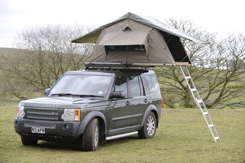 Brand New Ventura Deluxe 1 4 Car Roof Tent Grey Expedition