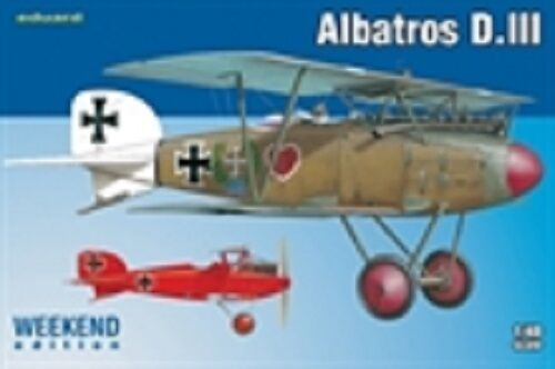 Eduard 1/48 Model Kit 8438 Albatros D.III Weekend edition C