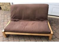 Sofa bed: Solid and in excellent condition