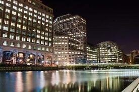 1-Bed Apartment above theLuxury 5 Star Hotel London Marriot in the Beating Heart of Canary Wharf.