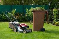 Lawn mowing , spring cleanups , aeration