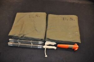 US army issue pup tent