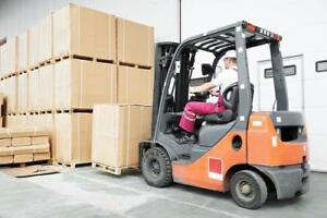 CB Forklift Operators Needed in Stoney Creek $16.64-$17.16/hr