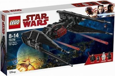 75179 Kylo Rens Tie Fighter Star Wars Lego New Legos Set Bb 9E First Order