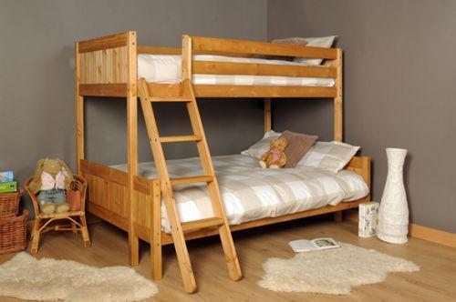 triple bunk beds with mattress beds bed frames ebay. Black Bedroom Furniture Sets. Home Design Ideas