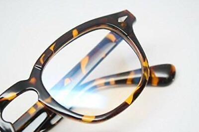 Tortoise Nerd Vintage Style Retro Eye Glasses Geek Horn Rimmed Eyewear (Tortoise Nerd Glasses)