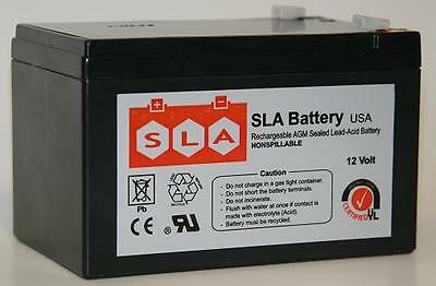 12v 12ah Sla Battery Replacement For Genesis Np12-12 (12 Volt)