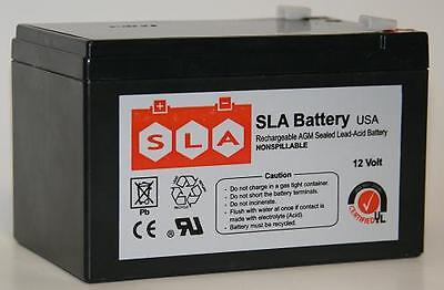 12V 12Ah F2 SEALED LEAD ACID DEEP-CYCLE RECHARGEABLE BATTERY USA 12 F2 Sealed Lead