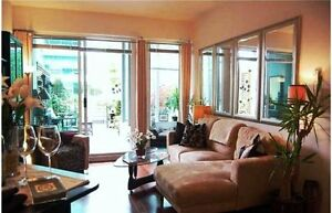 * FULLY FURNISHED EXECUTIVE 1BR+DEN IN BEST LOCATION! *