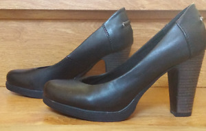 Black High Heel Pumps by K Studio (Size 6) worn once
