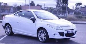 Moving Overseas - 2012 Renault Megane Convertible for Sale Niddrie Moonee Valley Preview