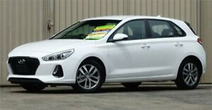 2018 Hyundai i30 PD Active White 6 Speed Auto Sequential Hatchback Lismore Lismore Area Preview